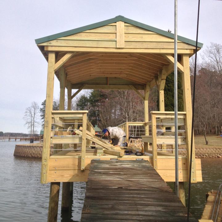 Dock Repairs Lake Norman