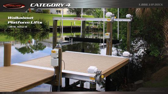 Lake Norman Platform Boat Lifts